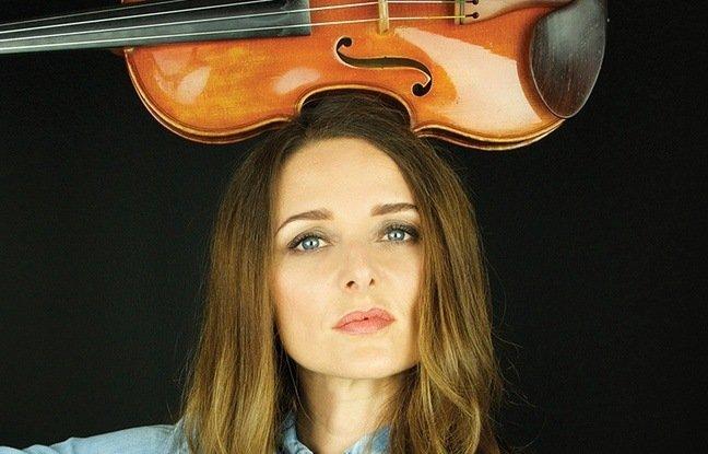 la violoniste de talent et chanteuse française Karen Brunon