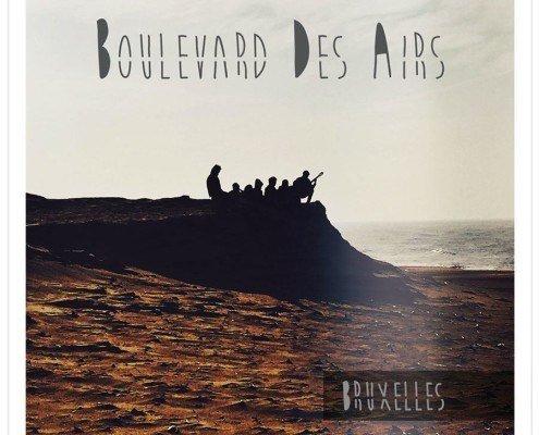voici la jaquette du dernier album bruxelles de boulevard des airs