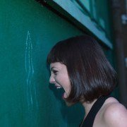 L'artiste Bordelaise Gatha entrain de crier pour son clip renaissance