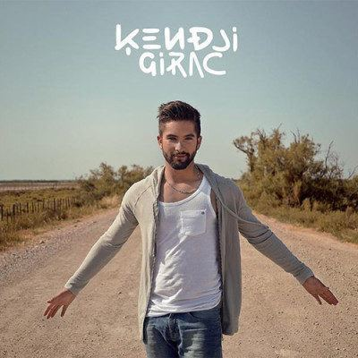 la pochette de l'album Ensemble de Kendji Girac