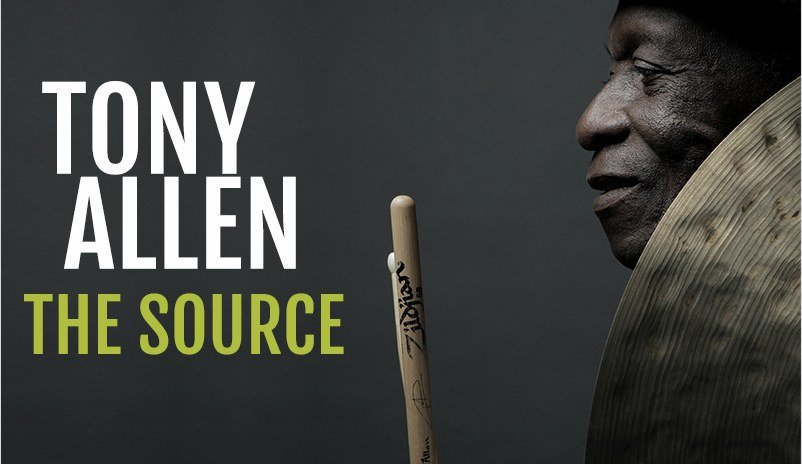 bannière de l'album The Source de Tony Allen