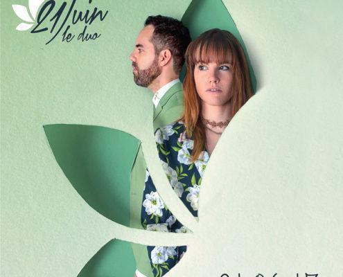 voici la pochette du premier ep 21.06.17 de 21Juin le duo