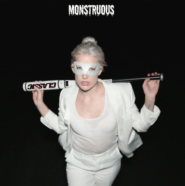 pochette du titre Monstruous de Evelinn Trouble